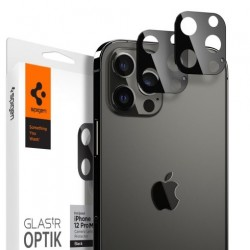 Spigen Optik Lens Protector pre iPhone 12 Pro Max - Black AGL01797