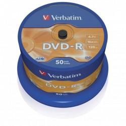 Verbatim DVD-R, 43548, DataLife PLUS, 50-pack, 4.7GB, 16x, 12cm,...