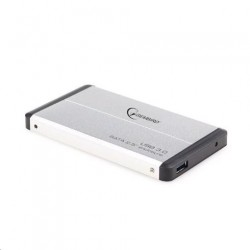 """Externý box GEMBIRD pre 2.5"""" HDD, USB 3.0, SATA, strieborný..."""