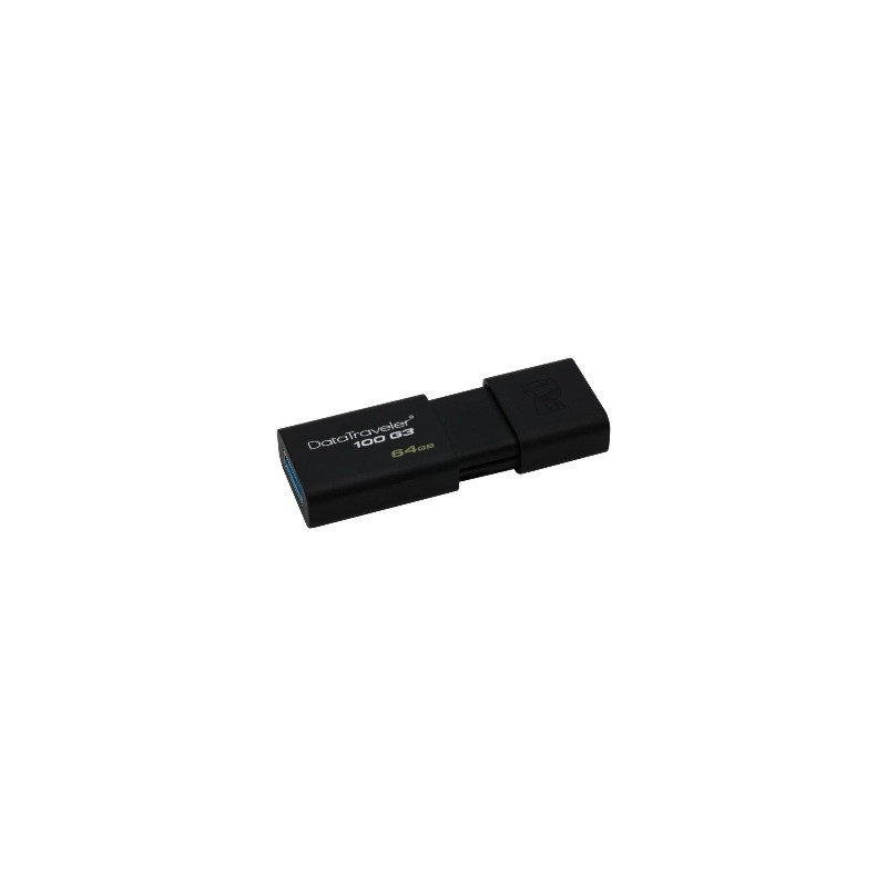 USB kľúč 64GB KINGSTON DataTraveler 100 Gen3 DT100G3/64GB
