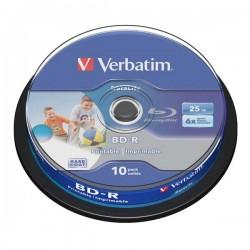 Verbatim BD-R SL, Hard Coat protective layer, 25GB, Pack Spindle, 43804, 6x, 1, pre archiváciu dát