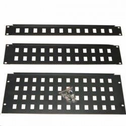 "R GA-28-2U, Patch panel 2U 24 port 19"" RGA-28-2U"
