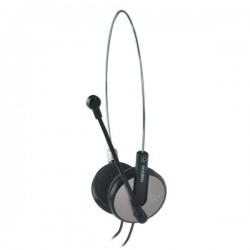 E-Blue, Bridget-S, slúchadlá s mikrofónom, čierna, 3.5 mm jack konektor EHS010BK