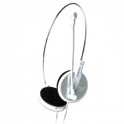 E-Blue, Bridget-S, slúchadlá s mikrofónom, biela, 3.5 mm jack konektor EHS010WH