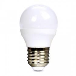 Solight LED žiarovka, miniglobe, 4W, E14, 3000K, 340lm, biele...