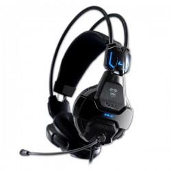 E-Blue, Cobra 707, herné slúchadlá s mikrofónom, čierna, 3.5 mm jack + USB konektor EHS016BK