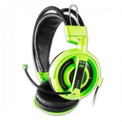 E-Blue, Cobra I, herné slúchadlá s mikrofónom, zelená, 3.5 mm jack konektor EHS013GR