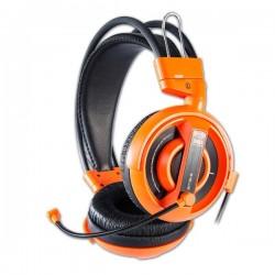 E-Blue, Cobra I, herné slúchadlá s mikrofónom, oranžová, 3.5 mm jack konektor EHS013OG