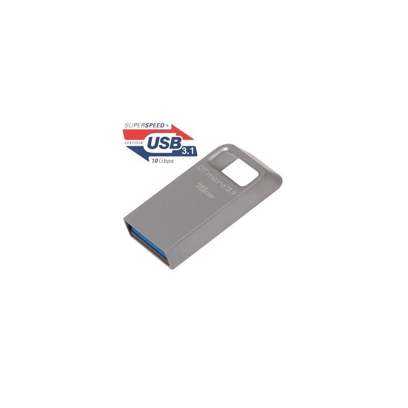 16GB USB kľúč Kingston DataTraveler Micro DTMC3/16GB