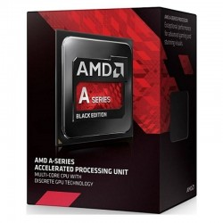 AMD, A6-7470K Processor BOX, soc. FM2+, 65W, Radeon R5, Black Edition AD747KYBJCBOX