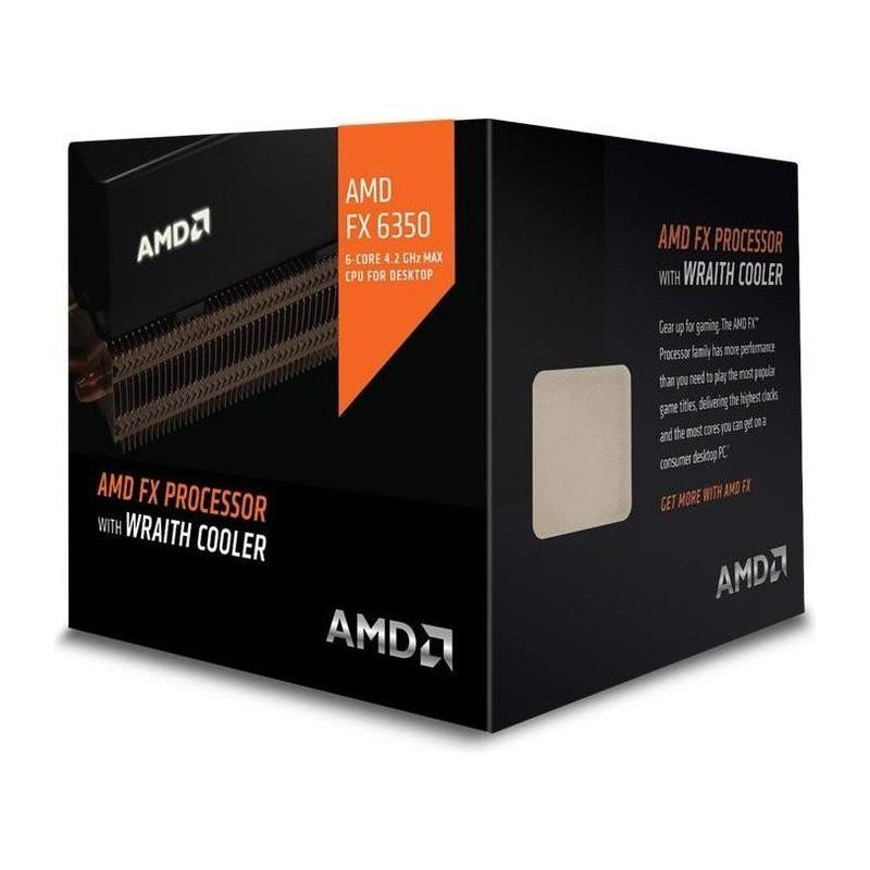 AMD, FX-6350 Processor BOX, soc. AM3+, 125W Wraith Cooler FD6350FRHKHBX