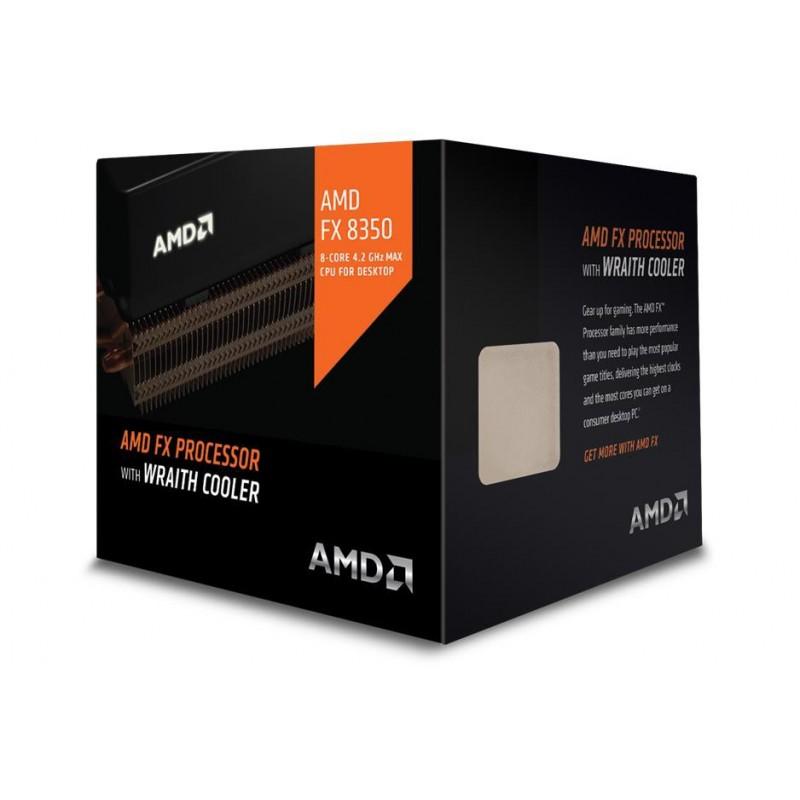 AMD, FX-8350 Processor BOX, soc. AM3+, 125W Wraith Cooler FD8350FRHKHBX