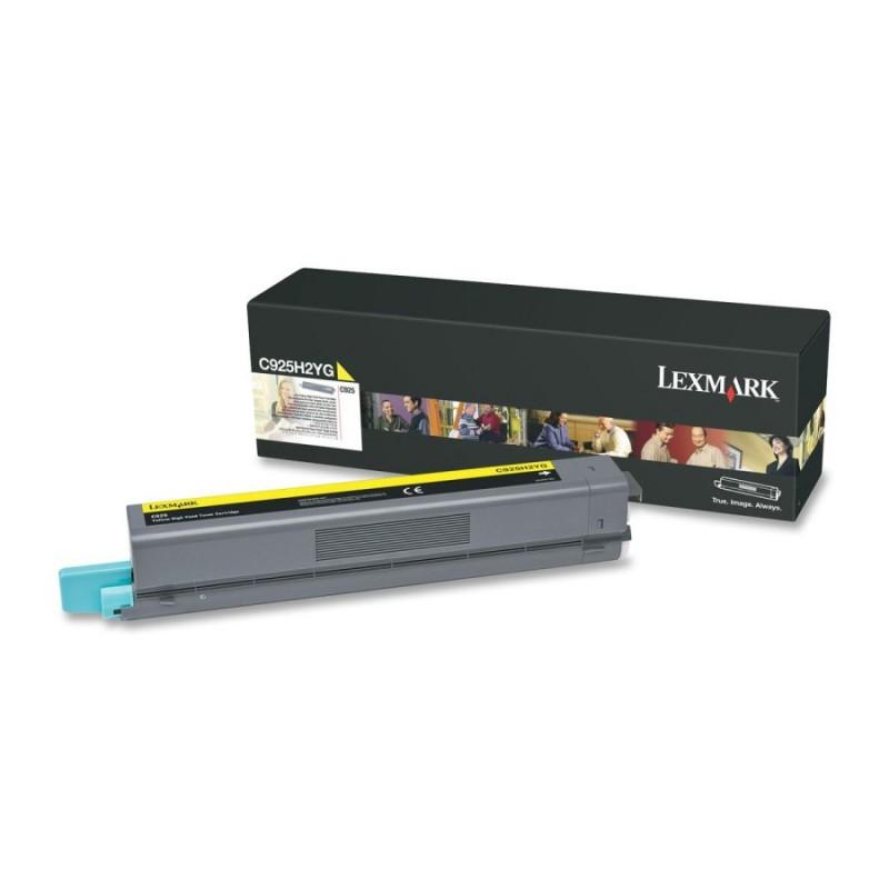 Lexmark C925 Yellow High Yield Toner Cartridge (7 500str.) C925H2YG
