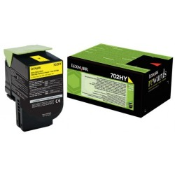 Lexmark CS310/CS410/CS510 Yellow 3K 70C2HY0