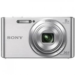 """SONY DSC-W830S 20,1 MP, 8x zoom, 2,7 """" LCD - SILVER DSCW830S.CE3"""