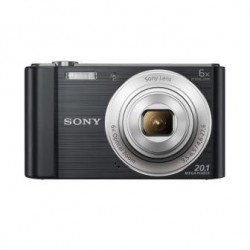 "SONY DSC-W810B 20,1 MP, 6x zoom, 2,7 "" LCD - BLACK DSCW810B.CE3"