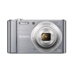 """SONY DSC-W810S 20,1 MP, 6x zoom, 2,7 """" LCD - SILVER DSCW810S.CE3"""