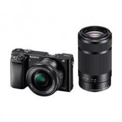 SONY ILCE-6000 Fotoaparát Alfa 6000 s bajonetem E + 16-50mm a...