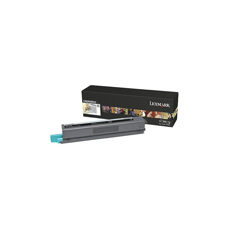 Lexmark C925 Black High Yield Toner Cartridge (8 500str.) C925H2KG