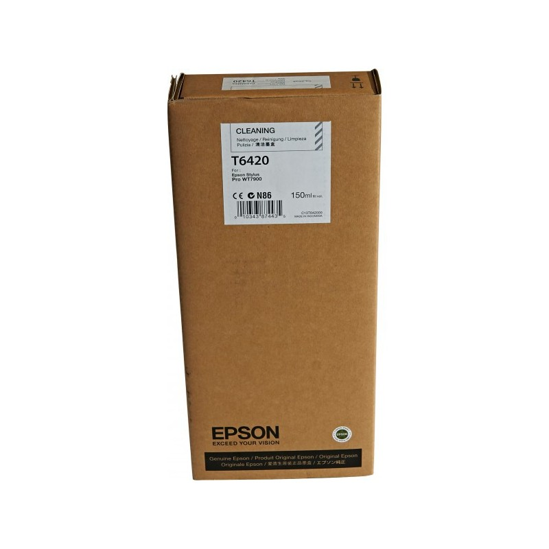 Epson atrament SPro WT7900 Cleaning Cartridge 150ml C13T642000