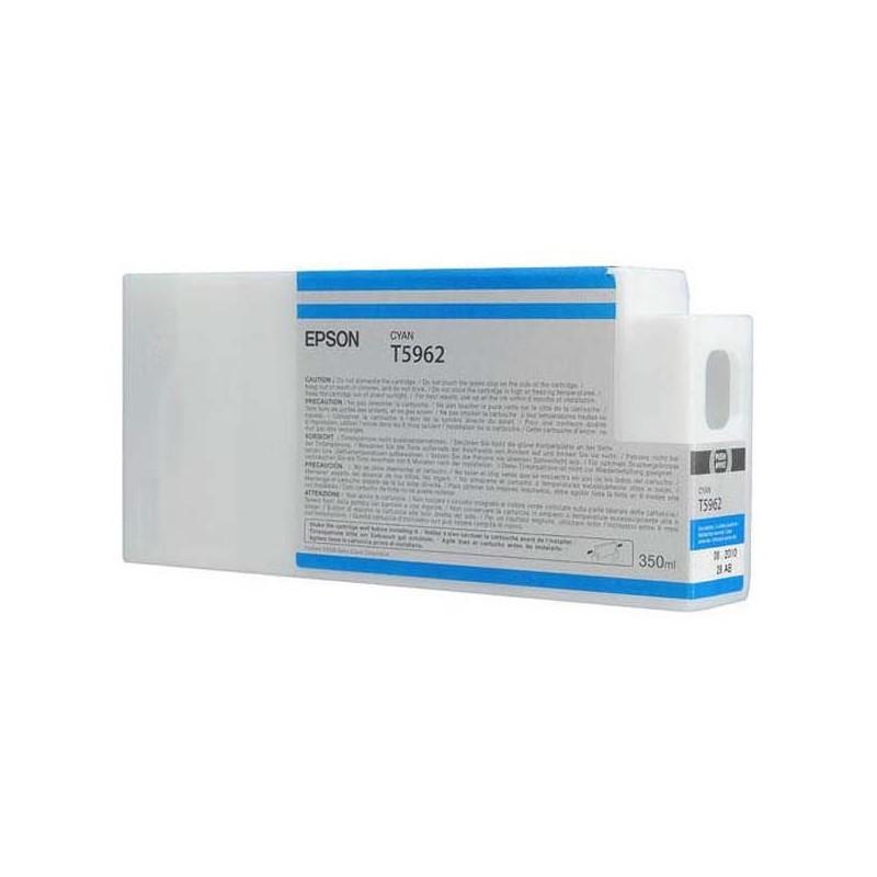 Epson atrament SPro 7700/7890/7900/9700/9890/9900 cyan 350ml C13T596200