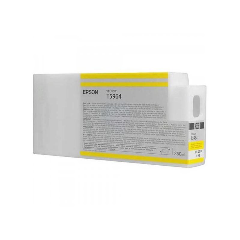 Epson atrament SPro 7700/7890/7900/9700/9890/9900 yellow 350ml C13T596400