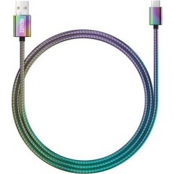 YENKEE YCU 351 USB / USB-C 1m nerezová ocel 35053495