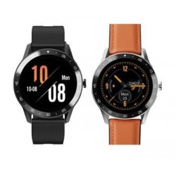 """iGET Blackview GX1 Brown - Chytré hodinky, 1.3"""" TFT, 240x240, plně..."""