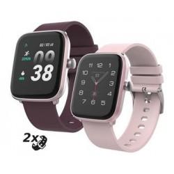 """iGET FIT F25 Pink - Chytré hodinky 1,4"""" IPS, 240x240 plně dotykový,..."""