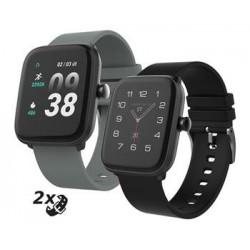 """iGET FIT F25 Black - Chytré hodinky 1,4"""" IPS, 240x240 plně..."""