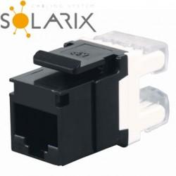 SOLARIX Keystone CAT5E UTP RJ45 SXKJ-5E-UTP-BK