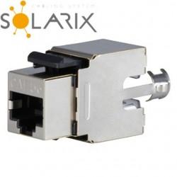 SOLARIX Keystone CAT5E STP RJ45 SXKJ-5E-STP-BK