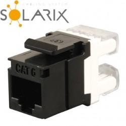 SOLARIX Keystone CAT6 UTP RJ45 SXKJ-6-UTP-BK