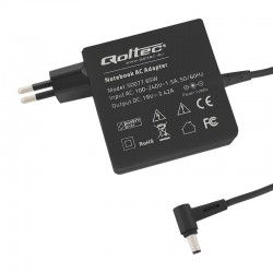 Laptop AC power adapter Qoltec 65W 3.42A 19V 5.5x2.5 50077.65W