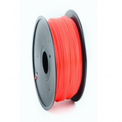 GEMBIRD Náplň 3D 100mm PLA/1.75mm/1kg Red 3DP-PLA1.75-01-R