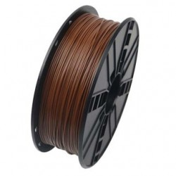GEMBIRD Náplň 3D 100mm PLA/1.75mm/1kg Brown 3DP-PLA1.75-01-BR