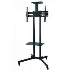 SBOX TV floor stand on wheels  FS-401