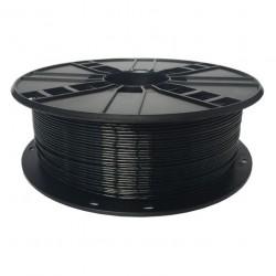 GEMBIRD Náplň 3D PETG 1.75mm/1kg Black 3DP-PETG1.75-01-BK