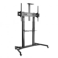SBOX  FS-3610, TV floor stand on wheels