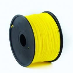 GEMBIRD Náplň 3D ABS/1.75mm/1kg Fluorescent Yellow 3DP-ABS1.75-01-FY
