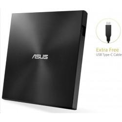ASUS DVD ZenDrive SDRW-08U9M-U BLACK, External Slim DVD-RW, USB...