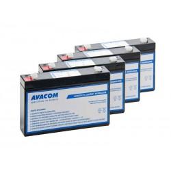 AVACOM bateriový kit pro renovaci RBC34 (4ks baterií) AVA-RBC34-KIT