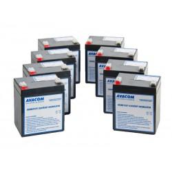 AVACOM bateriový kit pro renovaci RBC43 (8ks baterií) AVA-RBC43-KIT