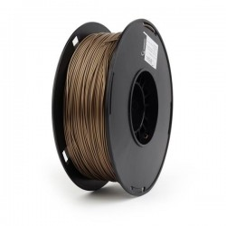 GEMBIRD Tisková struna (filament) PLA PLUS, 1,75mm, 1kg, zlatá...