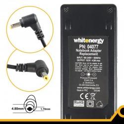 Whitenergy napájecí zdroj 18.5V/4.9A 90W konektor 4.8x1.7mm, Compaq 04077