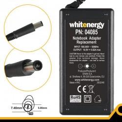 Whitenergy napájecí zdroj 19.5V/4.62A 90W konektor 7.4x5.0mm + pin Dell 04085