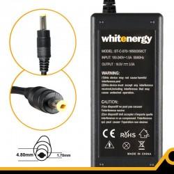 Whitenergy napájecí zdroj 18.5V/3.5A 65W konektor 4.8x1.7mm, HP, Compaq 04096