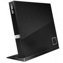 ASUS External Slim BD Writer SBW-06D2X-U BLACK, USB 3.1, Blu-ray...