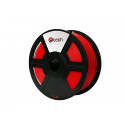 C-TECH Tisková struna (filament) PLA, 1,75mm, 1kg, červená...