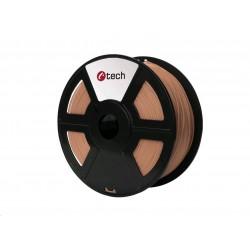 C-TECH Tisková struna (filament) PLA, 1,75mm, 1kg, měděná...